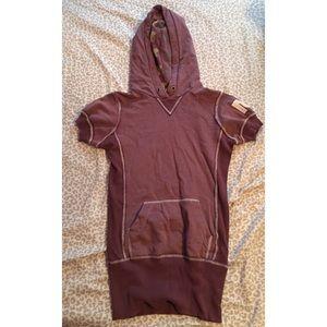 Rebel Yell Short sleeve Sweatshirt - size XS